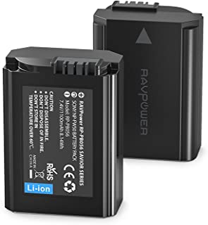 CR123A 3V Lithium Battery RAVPower Lithium Batteries Non-Rechargeable, 1500mAh Each, 16-Pack, 10 Years of Shelf Life for Polaroid, Microphones, Flashlight, Arlo Cameras
