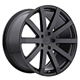 TSW BROOKLANDS Black Wheel with Painted Finish (18 x 8. inches /5 x 114 mm, 20 mm Offset)