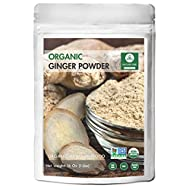 Naturevibe Botanicals Organic Ginger Root Powder (1lb), Zingiber officinale Roscoe | Non-GMO verified and Gluten Free