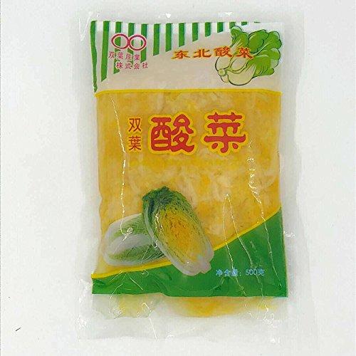 双葉東北酸菜 常温食品 白菜の酢漬け 酸菜餃子・炒め料理などに 500g
