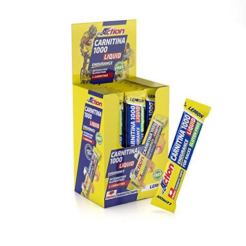 Carnitina 1000 liquid (limone) - confezione da 25 stick da 25 ml