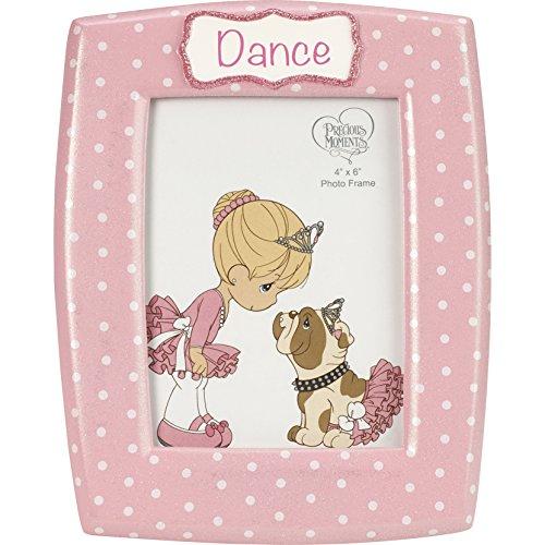 Precious Moments Dance Ballerina Resin Photo Frame 185094 Bilderrahmen, Kunstharz, Mehrfarbig, One Size
