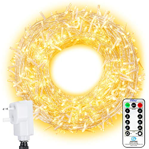 LED Outdoor String Lights Ollny 800 LEDs 100m Fairy...