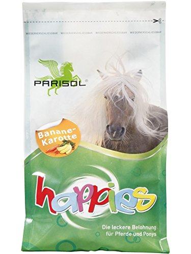Parisol Happies, Leckerli für Pferde - Banane-Karotte - 1kg