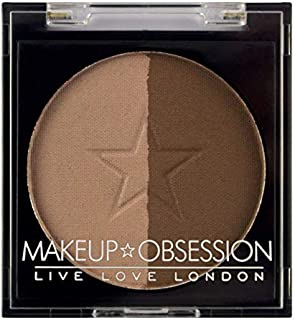 Makeup Obsession Duo Brow, BR107 Dark Brown, 2g
