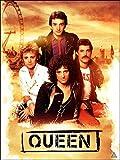 777 Tri-Seven Entertainment Queen Poster Music Wall Art Print (18x24), Multi-Color