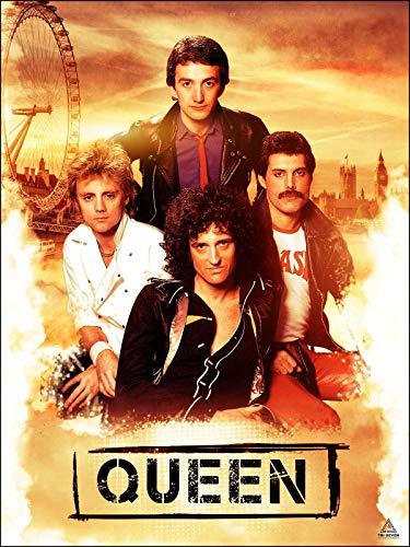 póster de queen de la marca 777 Tri-Seven Entertainment