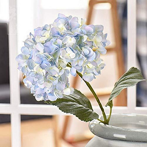 Jtyesp Kunstbloemen, voor de woonkamer, tuin, bloemen, creatieve hortensie, kunstbloemen, decoratie, eettafel, bloemen
