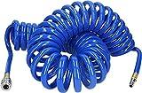 BRILLIANT TOOLS BT160035 Tubo a Spirale per Aria compressa, Ø 10 mm, 10 m