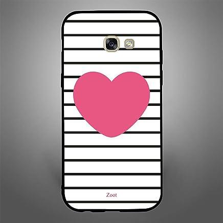Samsung Galaxy A5 2017 Pink Heart stripes