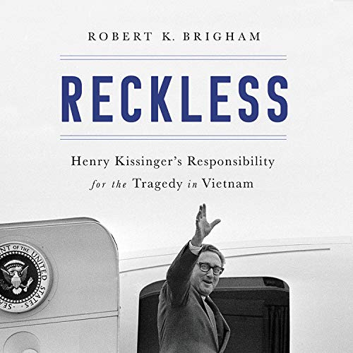 Reckless Audiobook By Robert K. Brigham cover art