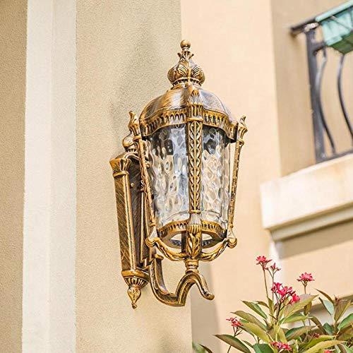 Modern retro villa balcón lámpara de pared exterior