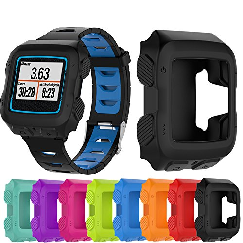 LiuYX Replacement Wrist Band for Garmin FR 920 Forerunner 920XT Sports SmartWatch Band Strap Cover Soft Shockproof Silicone Slim Protector Sleeve