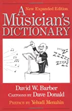 A Musician's Dictionary