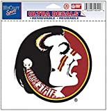 WinCraft NCAA Florida State University Multi-Use Colored Decal, 5' x 6'
