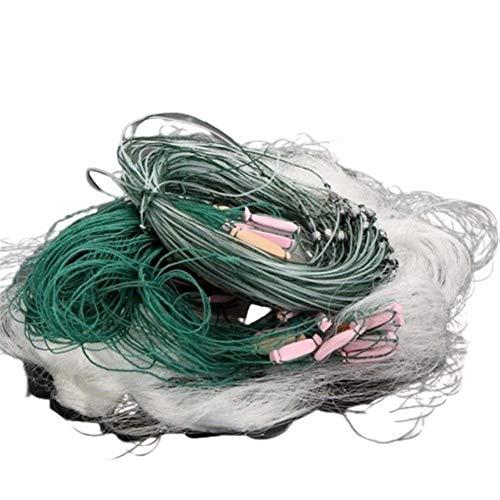 YOBAIH Atarraya Red Pesca Pesca 25m Net 3 Capas de monofilamento de...