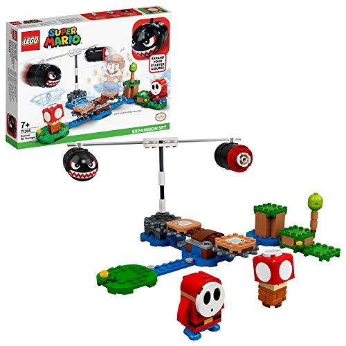 LEGO Super Mario Set de Expansión: Avalancha de Bill Balazos, Juguete de Construcción (71366)
