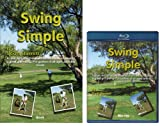( Book and Disc) Swing Simple Golf Instruction Book and Blu-ray Disc by Scott Barrett