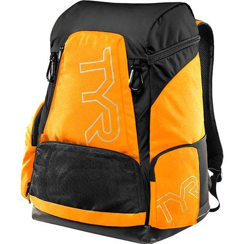 TYR(ティア) プールバッグ ALLIANCE 45L BACKPACK F.OR/BK(820) LATBP45 オレンジブラック FREE