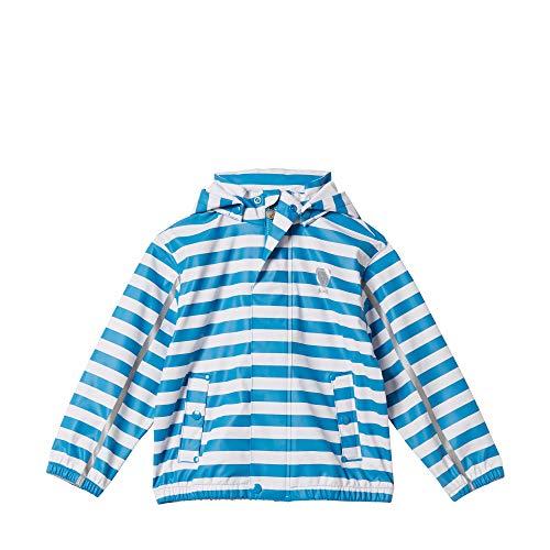 Steiff Baby-Jungen Regenjacke, Blau (Swedish Blue 6034), 86 (Herstellergröße: 086)