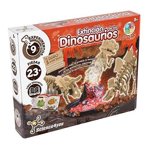 Science4you 61506 -Extinción de los Dinosaurios-Juguete eduativo y cientifico, Multicolor