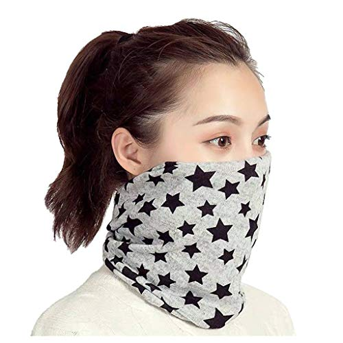N/X Akaslife Multifunctional Scarf, Women's Hedging Protection Neck Cover, Cycling Motorcycle Head Scarf Neck Warmer Cover Ski Balaclava Headwear