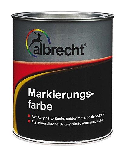 Lackfabrik J. Albrecht GmbH & Co. KG 3400707450102302500 ALBRECHT Markierungsfarbe, Gelb, 2,5l