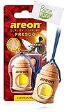AREON auto deodorante profumo fresco profumo 4ml–Hawaii–appeso bottiglia diffusore con copertura in legno naturale, a lunga durata