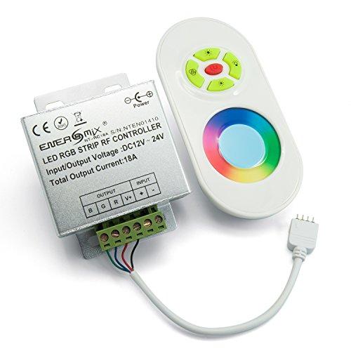 Led RGB Controller, Steuergerät,Dimmer mit Touchscreen Fernbedienung