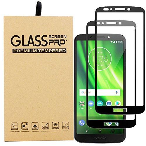 [2 paquetes] BestMX Templado Protector de Pantalla para Motorola Moto G6 Play / E5 , Premium completa…
