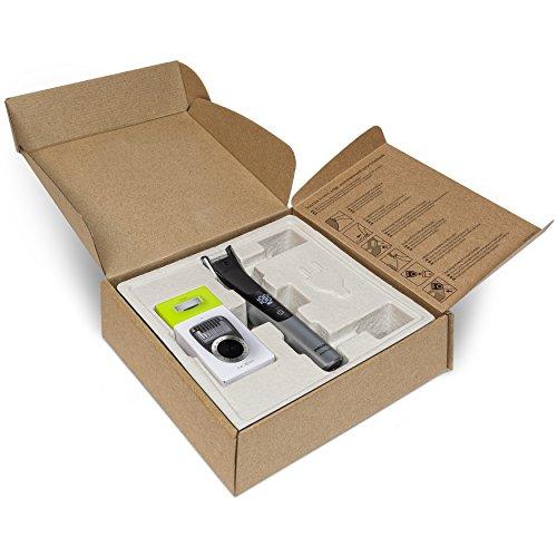 Philips QP6520/30 OneBlade Pro, Wet&Dry, Rade, Regola e Rifinisce con Pettine di Precisione con 14 Impostazioni di Lunghezza (da 0,4 a 10 mm), batteria, cordless