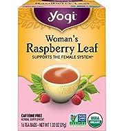 Yogi Tea - Woman's Raspberry Leaf (6 Pack) - Supports the Female System - 96 Tea Bags