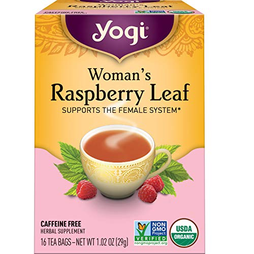 Yogi Tea - Woman's Raspberry Leaf (6 Pack) - Supports the Female System - 96 Tea Bags