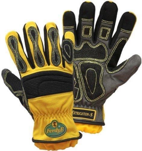 FerdyF Elasthan Montagehandschuh Größe (Handschuhe): 9, L EN 388 Cat II Mechanics Extrication-S 1