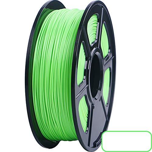 3d Printer Filament 1KG +/- 0.02 Mm,3d Printing Materials For 3D Printer And 3D Pen,PLA Filament 1.75mm Light Green Pla 1.75