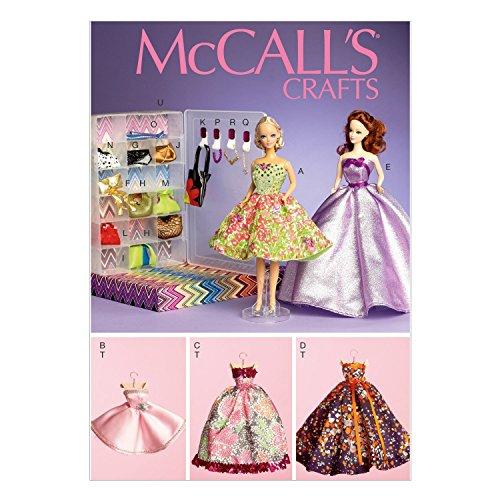 McCall's - Cartamodello 111, per Abiti di Bambola di 29 cm, Multicolore