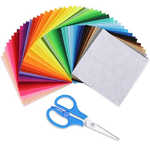 45Pcs Felt Fabric Sheets