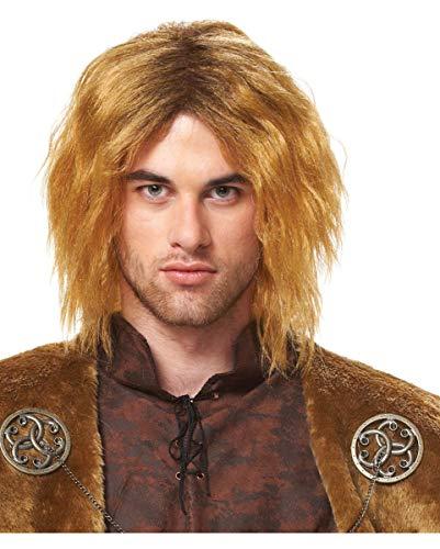Horror-Shop Medieval Seigneur perruque Jon