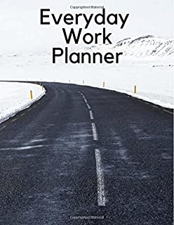Everyday Work planner: I like to note all day in 1 month