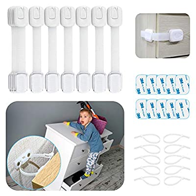 Amazon - Save 50%: Cabinet Locks for Babies – 30 Pcs Baby Proofing Kit, 10 Child Safety Cabinet L…