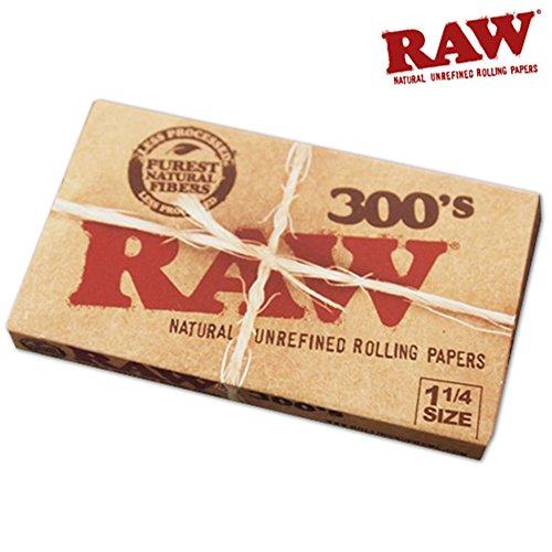 RAW(ロー) クラシック 300's ペーパー 300枚入り ×4個セット 手巻きタバコ 喫煙具