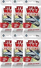 Bundle: Star Wars Destiny - Across The Galaxy Booster Packs (6 Booster Pack Lot)