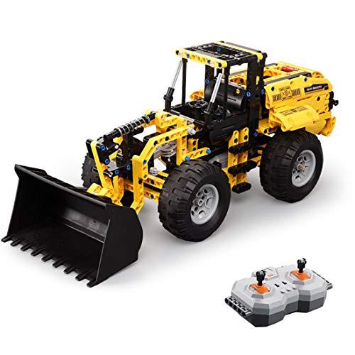 YxFlower Custom Bausteine - 2.4GHz RC Modell Traktor DIY Ferngesteuerter Auto,Technic Block Building...
