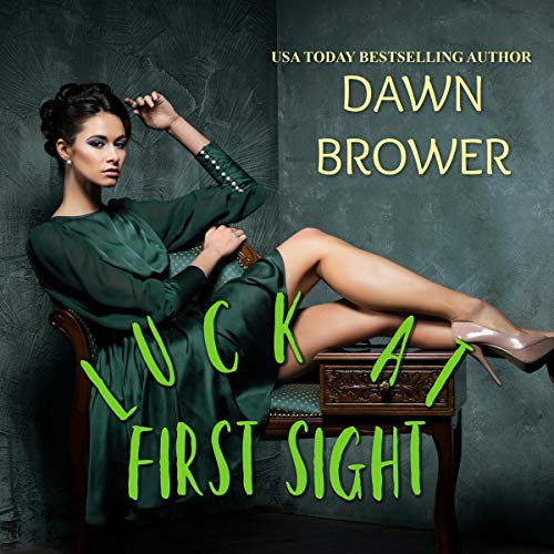 Luck at First Sight audiobook cover art