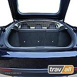 Travall Guard Grilles Pare-Chien Compatible avec Tesla Model S (2012 et Ulterieur) TDG1564 - Grille de Separation avec Revêtement en Poudre de Nylon