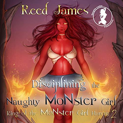 Disciplining the Naughty Monster Girl audiobook cover art