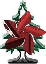 BAOLI Ventilador para fogão de madeira de árvore de Natal, ventilador de lareira com 5 lâminas para ambiente de Natal, nov...