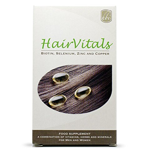 HairVitals Vitamins for Hair Growth 30 tabs - Mix of Vitamins Against Hair Loss