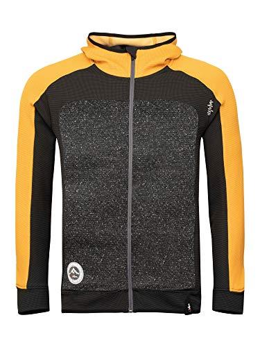 Chillaz M Lake Placid Jacket Gelb-Grün, Herren Isolationsjacke, Größe XL - Farbe Dark Curry - Black - Grey Melange