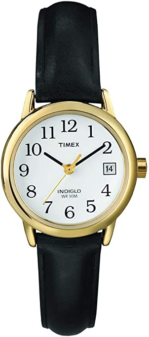 Timex Women's T2H341 Year-Round Analog Quartz Black Watch